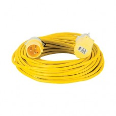 Extension Lead Yellow 1.5mm2 16A 25m 110V