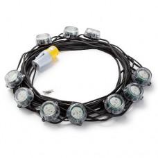 22m Heavy Duty LED Encapsulated Festoon String Lights 50W 110V 50W