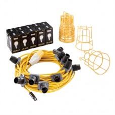 LED Festoon Kit 22m 110V 100W