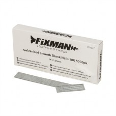 Galvanised Smooth Shank Nails 18G 5000pk 14 x 1.25mm