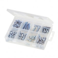 Machine Screws & Nuts Pack 105 pieces