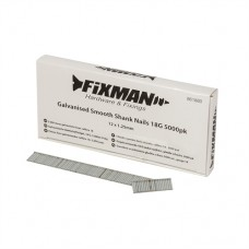 Galvanised Smooth Shank Nails 18G 5000pk 12 x 1.25mm