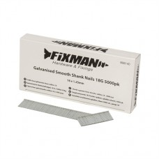 Galvanised Smooth Shank Nails 18G 5000pk 16 x 1.25mm