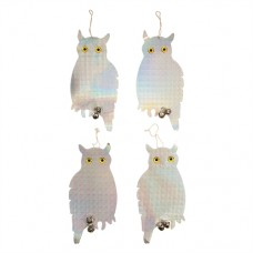 Bird Repellent Owls 4pk 200 x 410mm