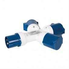 16A 3-Gang Splitter 230V 3 Pin