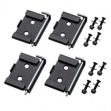"""Quick-Release Workbench Caster Plates 4pk 2-3/4 x 3-3/4"""""""