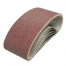 Sanding Belts 75 x 457mm 5pk 60 Grit