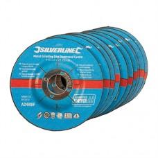 Metal Grinding Discs Depressed Centre 10pk 115 x 6 x 22.23mm