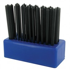 """Transfer Punch Set 28 pieces 3/32"""" - 17/32"""" (2.4-13.4mm)"""