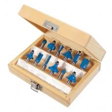8mm TCT Router Bit Set 12 pieces (8mm)