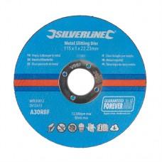 Metal Slitting Discs 10pk 115 x 1 x 22.23mm