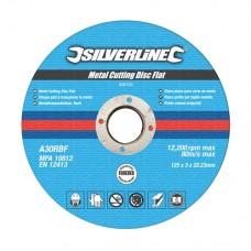 Metal Cutting Discs Flat 10pk 125 x 3 x 22.23mm