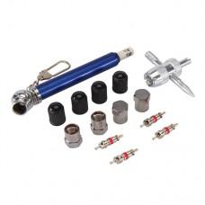 Tyre Valve Repair Kit 14 pieces 10 - 50psi