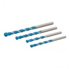 Multi Construction Drill Bit Set 4 pieces (4 pieces)