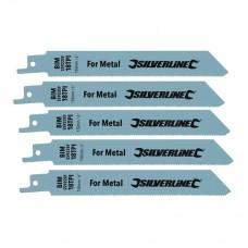 Recip Saw Blades for Metal 5pk Bi-Metal - 18tpi - 150mm