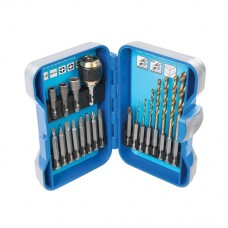 Quick Change Drilling & Driving Set 20 pieces 1 - 8mm