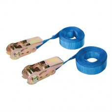 Endless Ratchet Tie-Down Strap 2pk 5m x 25mm - Rated 250kg Capacity 500kg