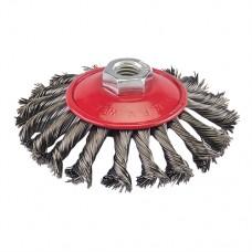 Steel Twist-Knot Brush 115mm