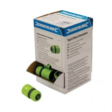 """Waterstop Hose Connectors 1/2"""" Display Box 30 pieces Double Female"""