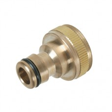 """Tap Connector Brass 3/4"""" BSP - 1/2"""" Male"""