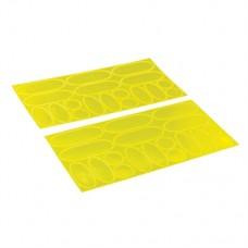 Hi-Vis Reflective Stickers 36 pieces (36 pieces)