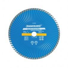 Turbo Wave Diamond Blade 230 x 22.23mm Castellated Continuous Rim