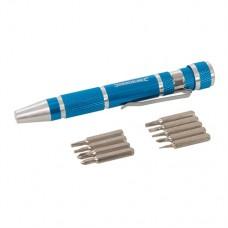 Precision Screwdriver Set 9 pieces 110mm