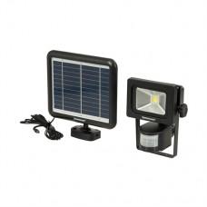 COB LED Solar-Powered PIR Floodlight 3W PIR