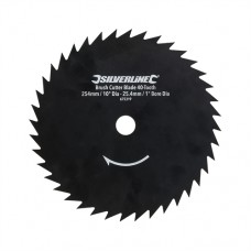 """Brush Cutter Blade 40-Tooth 254mm / 10"""" Dia - 25.4mm / 1"""" Bore Dia"""