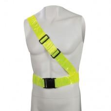 Hi-Vis Reflective Sash Belt PVC 78 - 108cm (30 inch - 43 inch)