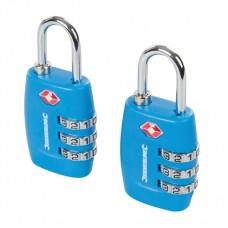 TSA Combination Luggage Padlocks 2pk 3-Digit