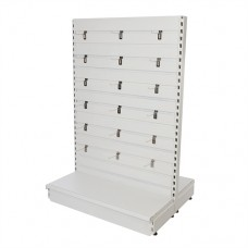 Slatwall Toolbars & Gondola Systems Slatwall Gondola 1000 x 400 x 1500mm