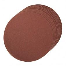 Self-Adhesive Sanding Discs 150mm 10 pieces 2 x 60, 4 x 80, 4 x 120G
