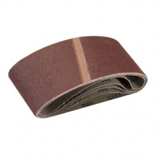 Sanding Belts 65 x 410mm 5pk 80 Grit