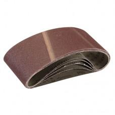 Sanding Belts 75 x 457mm 5pk 80 Grit