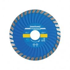 Turbo Wave Diamond Blade 115 x 22.23mm Castellated Continuous Rim