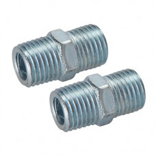 """Air Line Equal Union Connector 2pk 1/4"""" BSPT"""