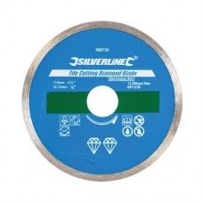 Tile Cutting Diamond Blade 115 x 22.23mm Continuous Rim