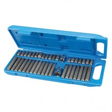 Hex, T20 - T55 & Spline Bit Set 40 pieces (40 pieces)