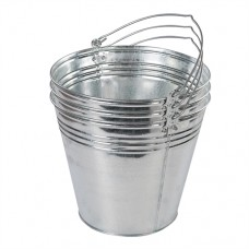 Galvanised Bucket 3pk 14Ltr