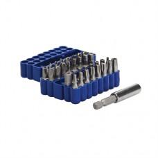 Security Bit Set 33 pieces 25mm