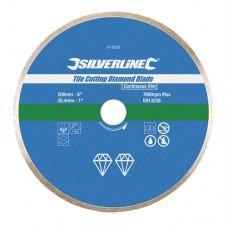 Tile Cutting Diamond Blade 200 x 25.4mm Continuous Rim