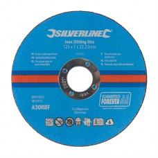 Inox Slitting Discs 10pk 125 x 1 x 22.23mm