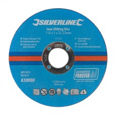 Inox Slitting Discs 10pk 115 x 1 x 22.23mm