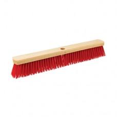 "Heavy Duty PVC Broom Head 600mm (24"") / Socket 23mm (15/16)"