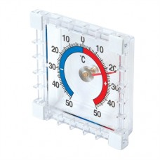 Indoor/Outdoor Stick-On Thermometer -50 degrees; to +50 oC