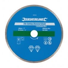Tile Cutting Diamond Blade 180 x 22.23mm Continuous Rim