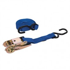 Ratchet Tie Down Strap S-Hook 4.5m x 23mm - Rated 250kg Capacity 500kg