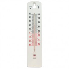 Indoor/Outdoor Stick-On Thermometer -40 degrees; to +50 oC