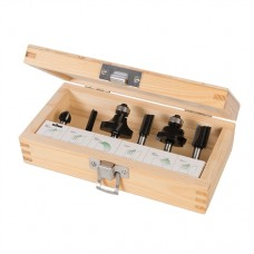 """1/4"""" Router Kit 6 pieces (6 pieces)"""